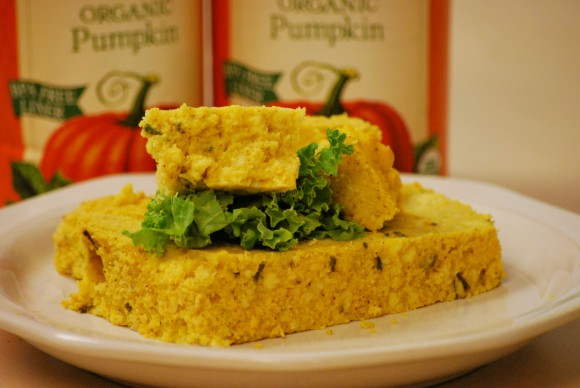 Savory Pumpkin Spoon Bread - Farmer's Market Foods